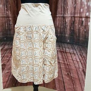 Columbia 100% Small Cotton Maternity Skirt